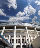 Moscow big sports arena Stadium Luzhniki Olympic Complex -- Stadium for the 2018 FIFA World Cup in Russia Stock Photos