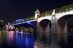 Moscow. Bridge. Stock Image