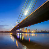 Moscow bridge in Kiev Royalty Free Stock Image