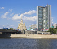 Moscow, building of Council for Mutual Economic Assistance Stock Image