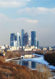 Moscow business center Stock Images