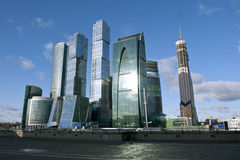 Moscow business center Royalty Free Stock Photography