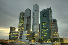Moscow business center Stock Photo