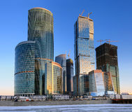 Moscow Business Center Royalty Free Stock Images