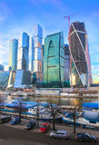Moscow business center Royalty Free Stock Image