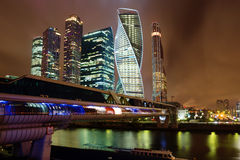 Moscow. Business center. Royalty Free Stock Image