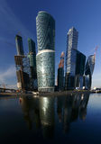 Moscow. Business center Stock Photo