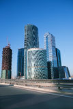 Moscow business centr Stock Images