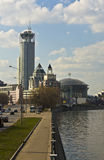 Moscow, business centre Stock Image