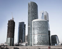 Moscow business centre Stock Photos