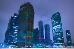 Moscow business the centre Stock Images