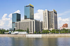 Moscow, business centre Royalty Free Stock Photos