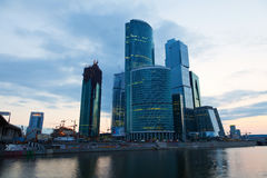Moscow business centre Royalty Free Stock Photo