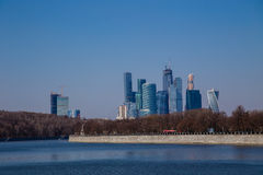 Moscow business City Stock Photos