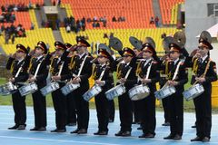 Moscow cadets. Stock Images