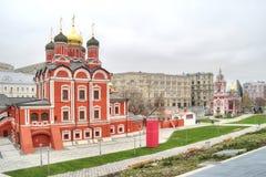 moscow Catedral do ícone da mãe do deus o sinal de t Fotos de Stock
