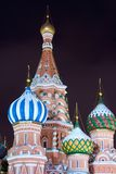 Old Moscow cathedral Royalty Free Stock Images