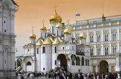Moscow - Cathedral of the Annunciation royalty free stock photography