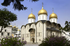 Moscow - Cathedral of the Assumption Royalty Free Stock Photo