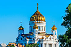 Moscow Cathedral of Christ the Savior Royalty Free Stock Image