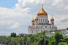Moscow Cathedral of Christ the Savior Stock Photo