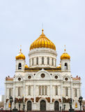 Moscow, Cathedral of Christ the Saviour Royalty Free Stock Image