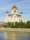 Moscow, cathedral of Jesus Christ Saviour Royalty Free Stock Images