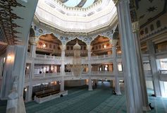 Moscow Cathedral Mosque (interior), Russia -- the main mosque in Moscow royalty free stock images