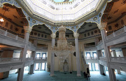 Moscow Cathedral Mosque (interior), Russia -- the main mosque in Moscow Royalty Free Stock Image