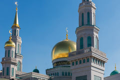 Moscow Cathedral mosque Stock Photos