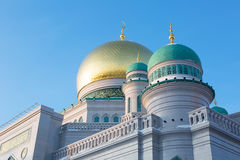 Moscow Cathedral Mosque Royalty Free Stock Photo