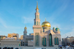 Moscow Cathedral Mosque, Russia Stock Image