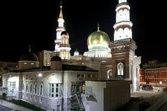Moscow Cathedral Mosque, Russia -- the main mosque in Moscow Royalty Free Stock Photography