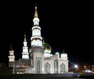 Moscow Cathedral Mosque, Russia -- the main mosque in Moscow Stock Photo