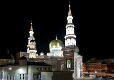 Moscow Cathedral Mosque, Russia -- the main mosque in Moscow Stock Photography