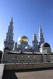 Moscow Cathedral Mosque Royalty Free Stock Photos