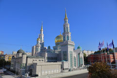 Moscow Cathedral Mosque Royalty Free Stock Photography