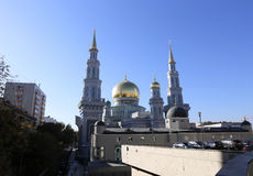 Moscow Cathedral Mosque Stock Images