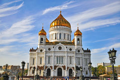 Moscow cathedral Stock Photography