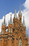 Moscow, cathedral of St. Mary Royalty Free Stock Photos