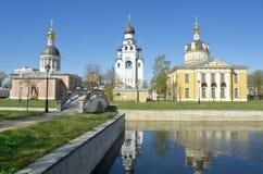 Moscow, cathedrals in Rogozhskaya sloboda Stock Image