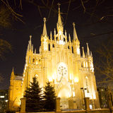 Moscow catholic cathedral of Saint Mary Royalty Free Stock Photo