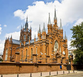 Moscow, catholic cathedral of St. Mary Royalty Free Stock Photos