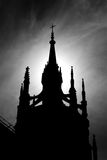 Moscow catolic cathedral Royalty Free Stock Images