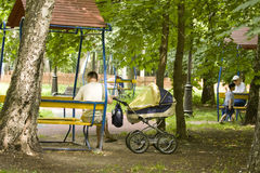 Moscow, Cherkizovsky park Stock Photos
