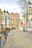 Moscow, Chernigov side-street Royalty Free Stock Photo