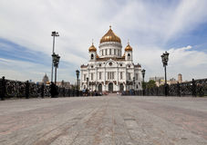 Moscow. Christ the Savior Cathedral Royalty Free Stock Photos