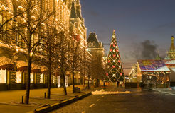 Moscow in Christmas Royalty Free Stock Photography