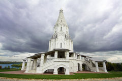 Moscow, Church of the Ascension in Kolomenskoye Stock Photo