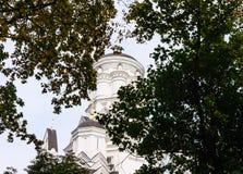 Moscow. Church of the Beheading of St. John tt in Kolomenskoye Stock Image